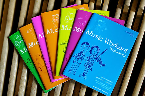 Music Workout Book Range