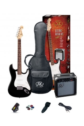 SX 3/4 Electric Guitar Black