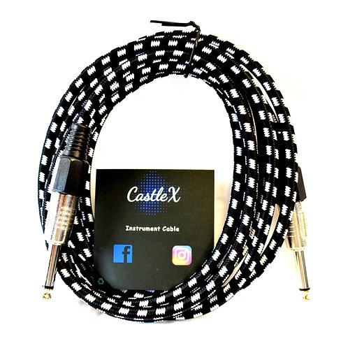CastleX Instrument Cable (Black)