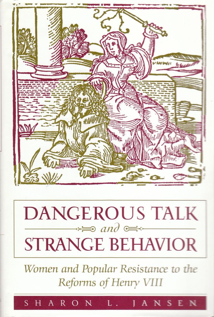 Dangerous Talk and Strange Behavior