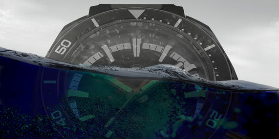 Zelos Hamerhead underwater