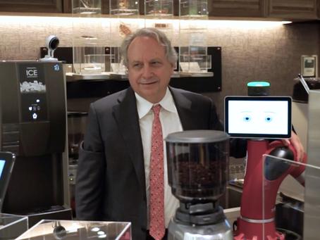 ロボットの父・ロドニー・ブルックス博士が「変なカフェ」に来店