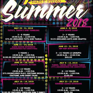 Summer Camps- 2018