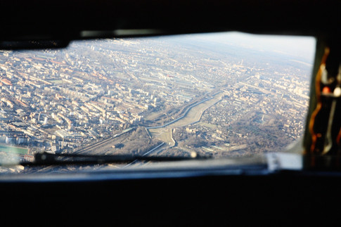 Berlin Wall from the Air