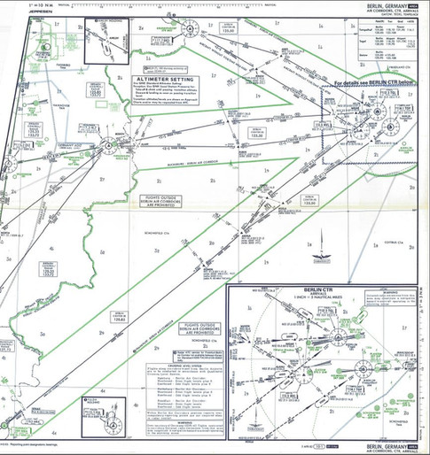 Jepp Chart - Berlin Corridor-1989