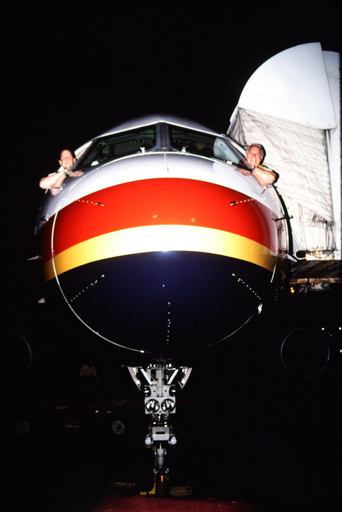 Barry and Brian Schiff - B757