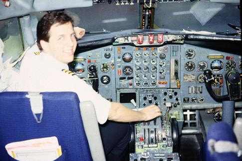TWA's Newest Captain Schiff