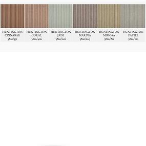 多色の織りで構成されているストライプ生地