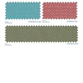 アウトドア用ファブリック、ディープな色使い