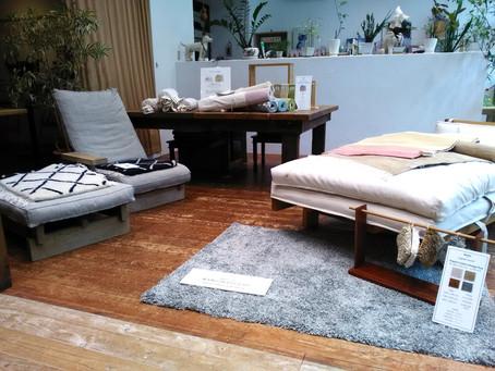 MUKU+organic weaveの特別展示販売が横浜で開催中