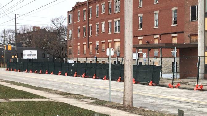 Main building demolition starting today!