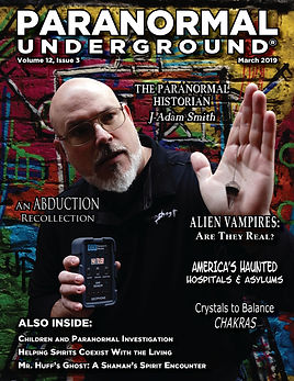 March 2019 Paranormal Underground COVER.
