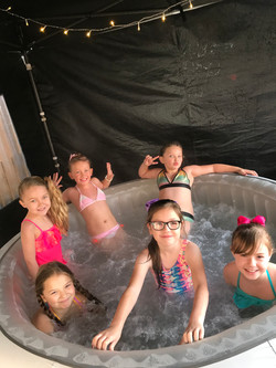 Hot tub party
