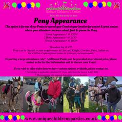 Pony Appearance