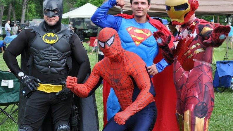 Deluxe Superhero Range