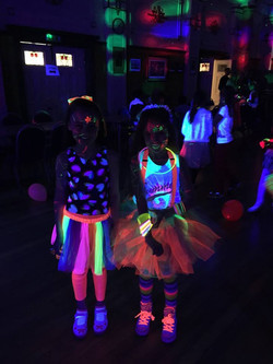 NEON GLOW IN THE DARK DISCO