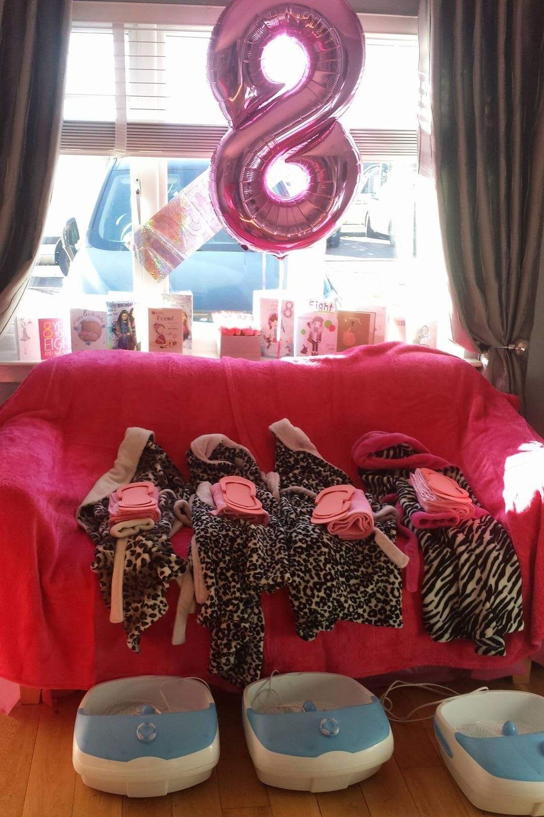 Pink set up