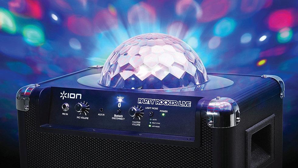 Speaker & Disco Lights