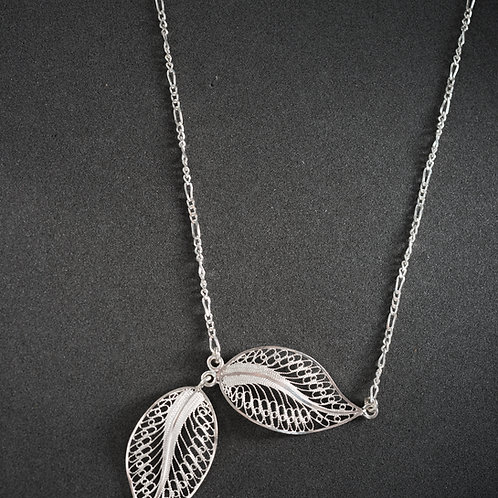 Silver Filigree Necklace