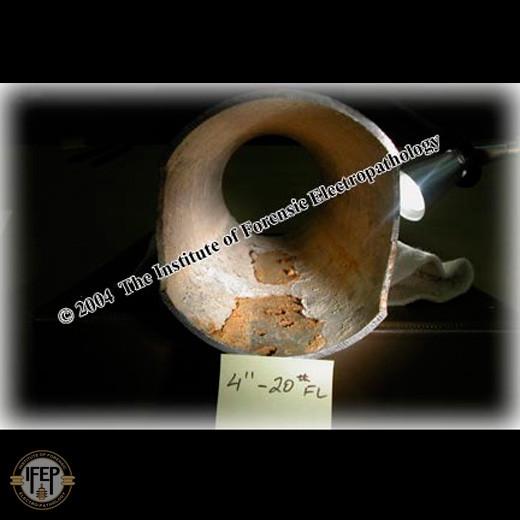 Corrosion - sprinkler system - bacterial