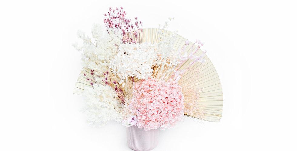 sydney florist, pink, preserved flower, everlasting flower, dried flower, preserved flower arrangement