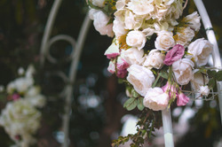 Bridal Arch Floral Decoration