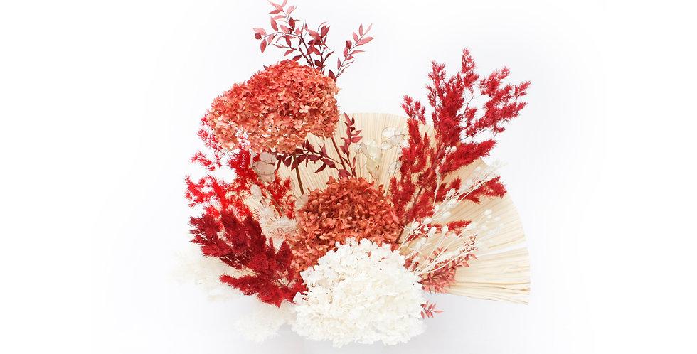 sydney florist, red, preserved flower, everlasting flower, dried flower, preserved flower arrangement