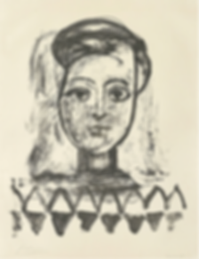 Pablo Picasso, Jeune Femme au corsage à triangles, Sculpture, kunst, art, kunstgalerij, art gallery, galerie d'art, kunstgalerie, paintings, prints and multiples, exhibition, tentoonstelling, art investment, art advisory, for sale