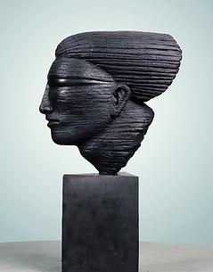 Speed Head - Bronze, Anton Smit, Uitstalling Art Gallery, Genk, Belgium