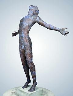 Faith II - Bronze, Anton Smit, Uitstalling Art Gallery, Genk, Belgium