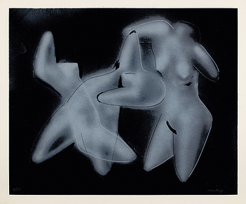 Man Ray - Three Nudes