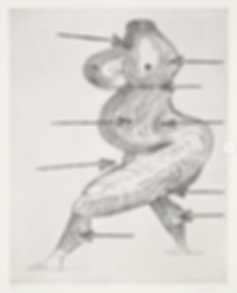 Louise Bourgeois, Saint-Sébastienne, Sculpture, kunst, art, kunstgalerij, art gallery, galerie d'art, kunstgalerie, paintings, prints and multiples, exhibition, tentoonstelling, art investment, art advisory, for sale