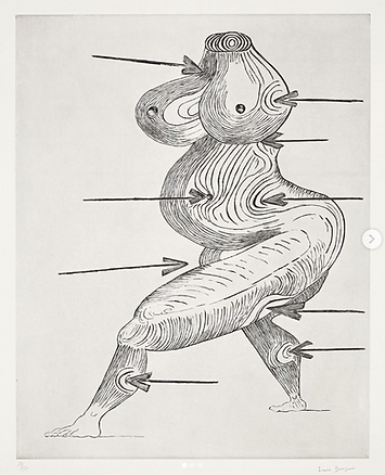 Louise Bourgeois, Saint-Sébastienne, Sculpture, kunst, art, kunstgalerij, art gallery, galerie d'art, kunstgalerie, paintings, prints and multiples, exhibition, tentoonstelling, art investment, art advisory, for sale