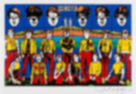Gilbert and George, Hope, Sculpture, kunst, art, kunstgalerij, art gallery, galerie d'art, kunstgalerie, paintings, prints and multiples, exhibition, tentoonstelling, art investment, art advisory, for sale