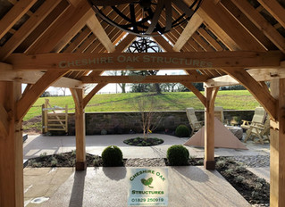 Creating an Oak Frame Outdoor Entertainment Space