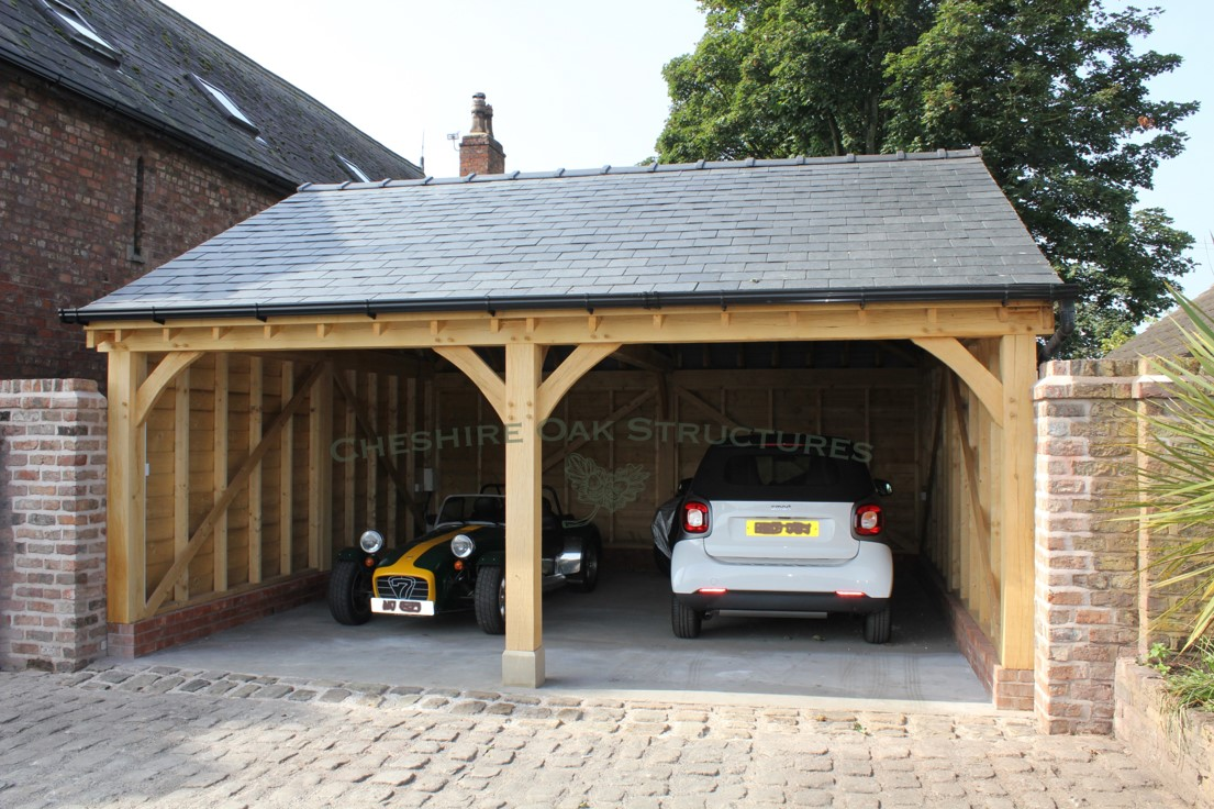 Two_Bay_Oak-Garage_for_classic_car_South