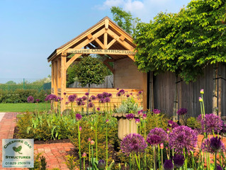 Garden Inspiration from Cheshire Oak Structures Ltd