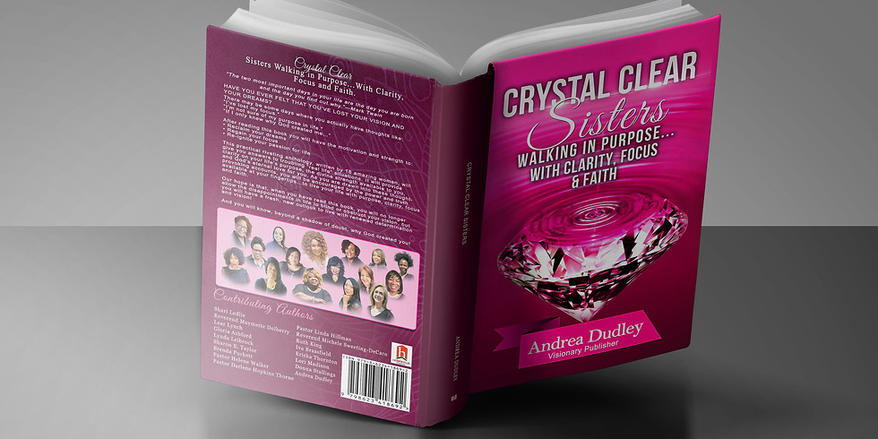CRYSTAL CLEAR BOOK RELEASE