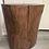Thumbnail: Maple tree stump side table, end table