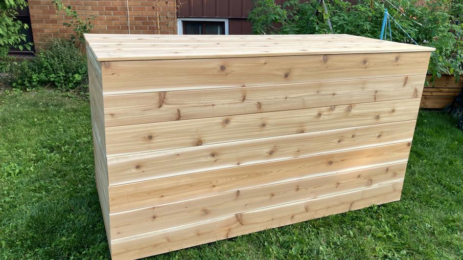 Storage box for indoor/outdoor use, Planter Box, Garbage Bin - Custom made