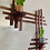 Thumbnail: Asymmetrical Wall Shelf With Stands For Plants/display