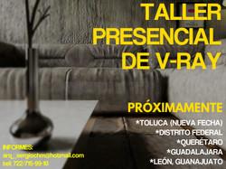 TALLER PRESENCIAL DE V-RAY