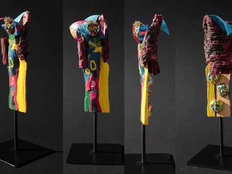 """Nouvelle série de sculptures : Les """"zosios"""" de Paradis"""