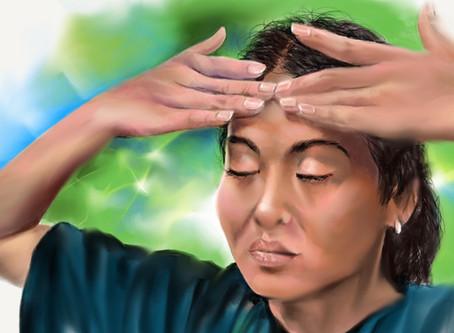 Massage emprunt de méditation