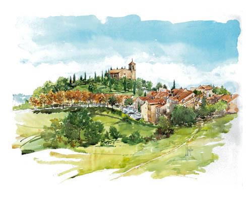 Village de Tourtour