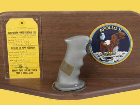 Against NASA Wishes, The Apollo 11 Joysticks Just Sold At Auction for big sum of money