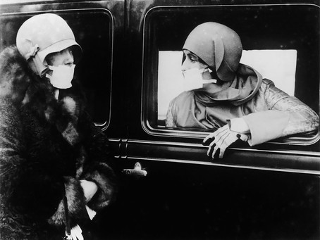 Vintage Photos Of People Wearing Masks During The 1918 Influenza Pandemic (Likewise COVID-19)
