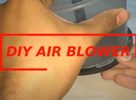 How to make DIY Air Blower at home very easily