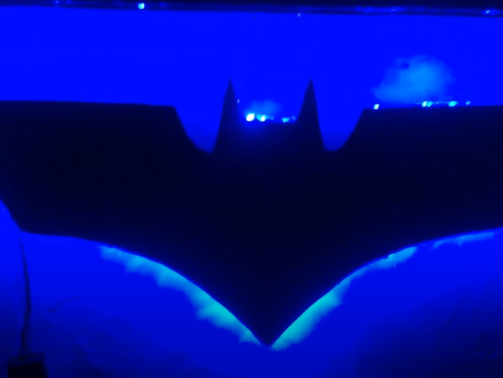 DIY Halloween Bat Night Light