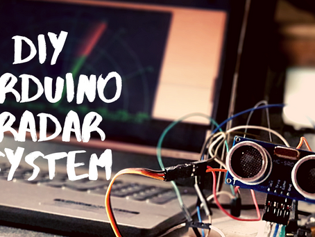 How To #Make A #Radar Using #Arduino And #Ultrasonic #Sensor Easily At #Home